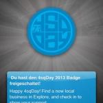 Foursquare Day 2013