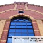 Wallraff-Lesung im Industriemuseum