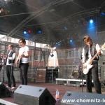 Kraftklub beim Bundesvision Song Contest 2011