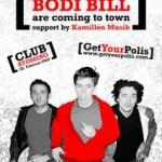 Freikarten für Bodi Bill im Atomino