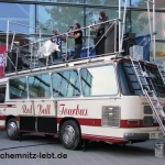 Red Bull Tourbus in Chemnitz