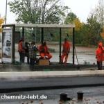 Chemnitz im Oktober 2009