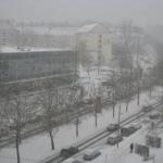 Chemnitz im Januar 2010
