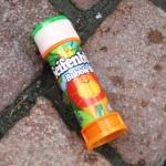 Seifenblasen auf dem Chemnitzer Marktplatz