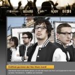 "Kraftklub gewinnt den ""New Music Award"""