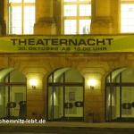 Theaterfest wird zur Theaternacht