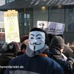 Chemnitz im Februar 2012