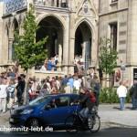1. Rentner Flashmob in Chemnitz