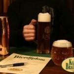 Bierdiplom aus Chemnitz