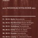 3×2 Freikarten für Christian Steyer in der Markuskirche