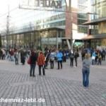 Fotos vom Fukushima Flashmob in Chemnitz
