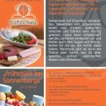 Abendbrot bei Sonnenbergs