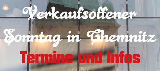 Verkaufsoffener Sonntag Chemnitz 2014