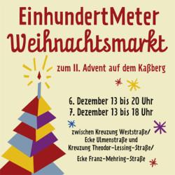 EinhundertMeter Weihnachtsmarkt  Kassberg Chemnitz