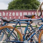 Fahrradfest und Eröffnung der Sonderausstellung 130 Jahre Diamant